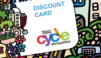 Cycle discount card